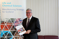 Scottish Enterprise Manufacturing Launch 2015, encap building, capsugel,  Mr Fergus Ewing MSP