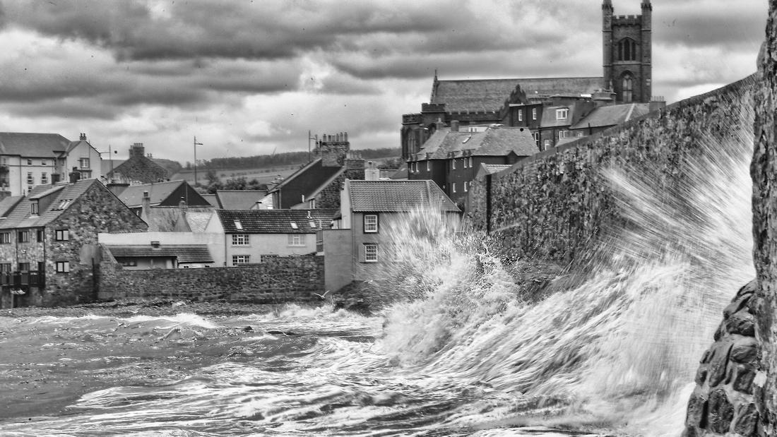 Wave Photography Dunbar East Lothian