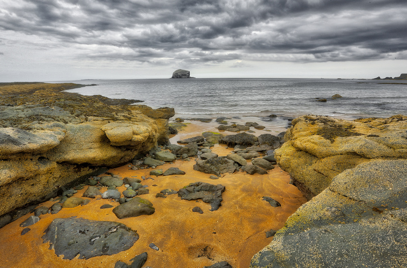landscape photography, North Berwick, Scotland, by professional freelance corporate and event photographer Colin Wright, Colin Wright Photography,